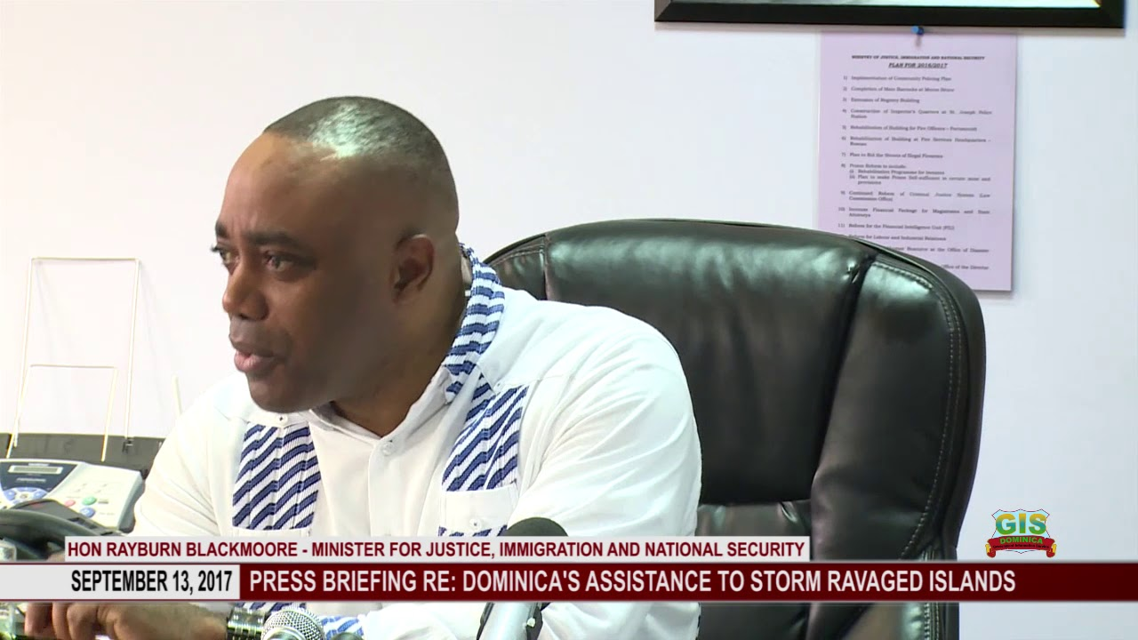 UPDATE ON DOMINICA'S ASSISTANCE TO STORM HIT COUNTRIES 0914 2017 4