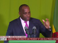 Dominica Prime Minister Address His People 1