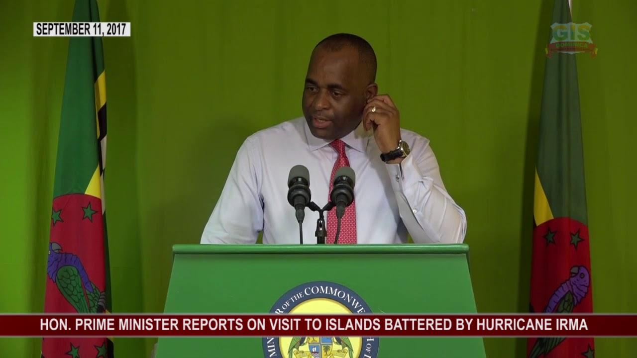 Prime Minister's Press Conference re Hurricane Irma 4
