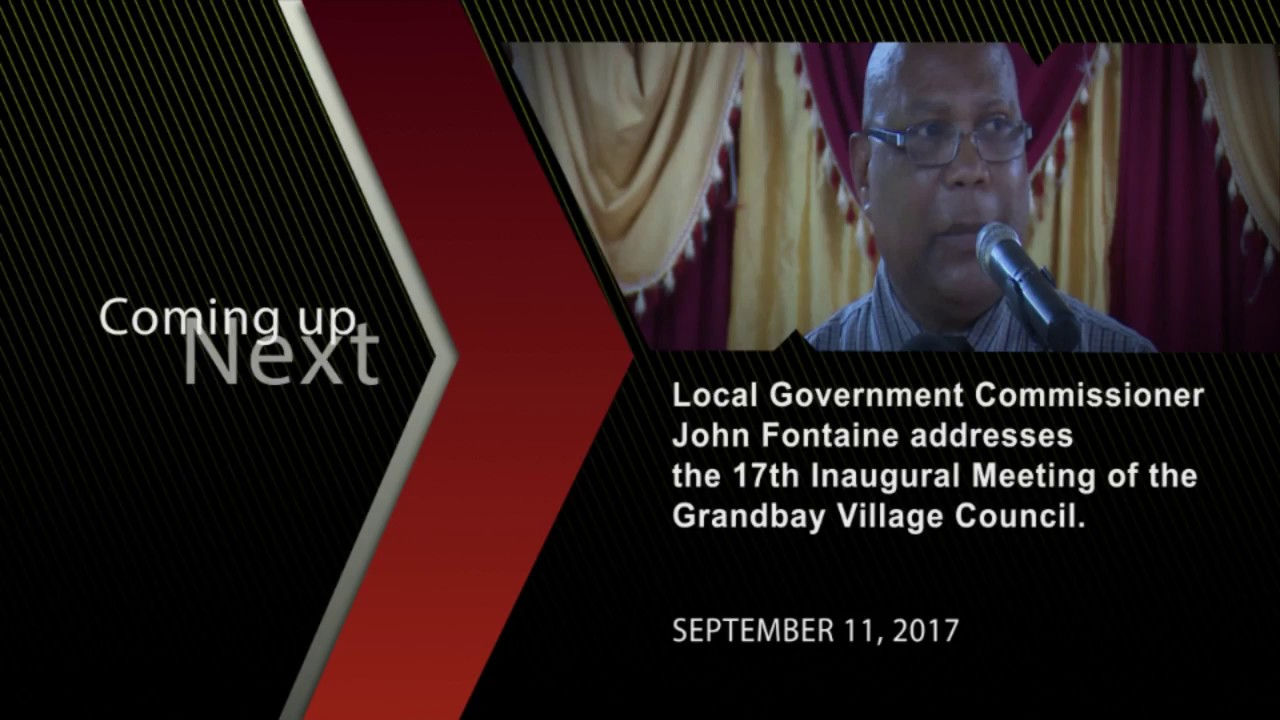 John Fontaine Grand Bay village council, September 11, 2017 3