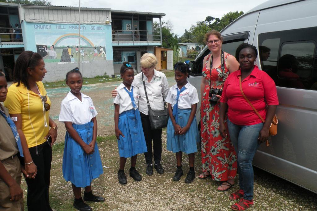 Caribic Vacations Group Captivated Orange Bay Tour