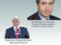 Roosevelt Skerrit and Jorge Familiar