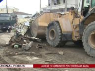 GIS NEWS UPDATE ON CLEARING OF ROADS OF THE CAPITAL