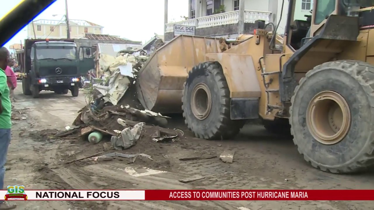 GIS NEWS UPDATE ON CLEARING OF ROADS OF THE CAPITAL 5