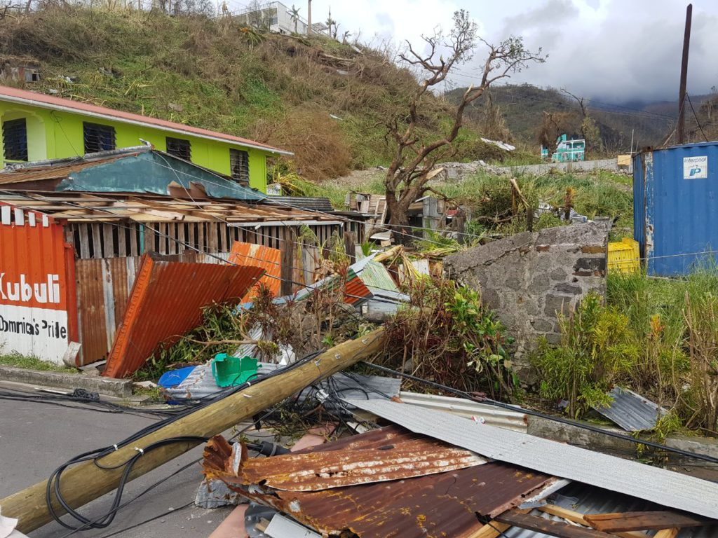 Roseau Dominica Post Hurricane Maria Update