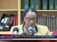 MINISTRY OF EDUCATION AWARDS TOP CSEC PERFORMERS