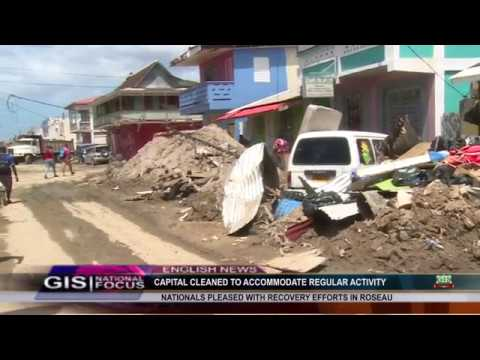 Prisca Julien Reports on the clean up of the capital city 5
