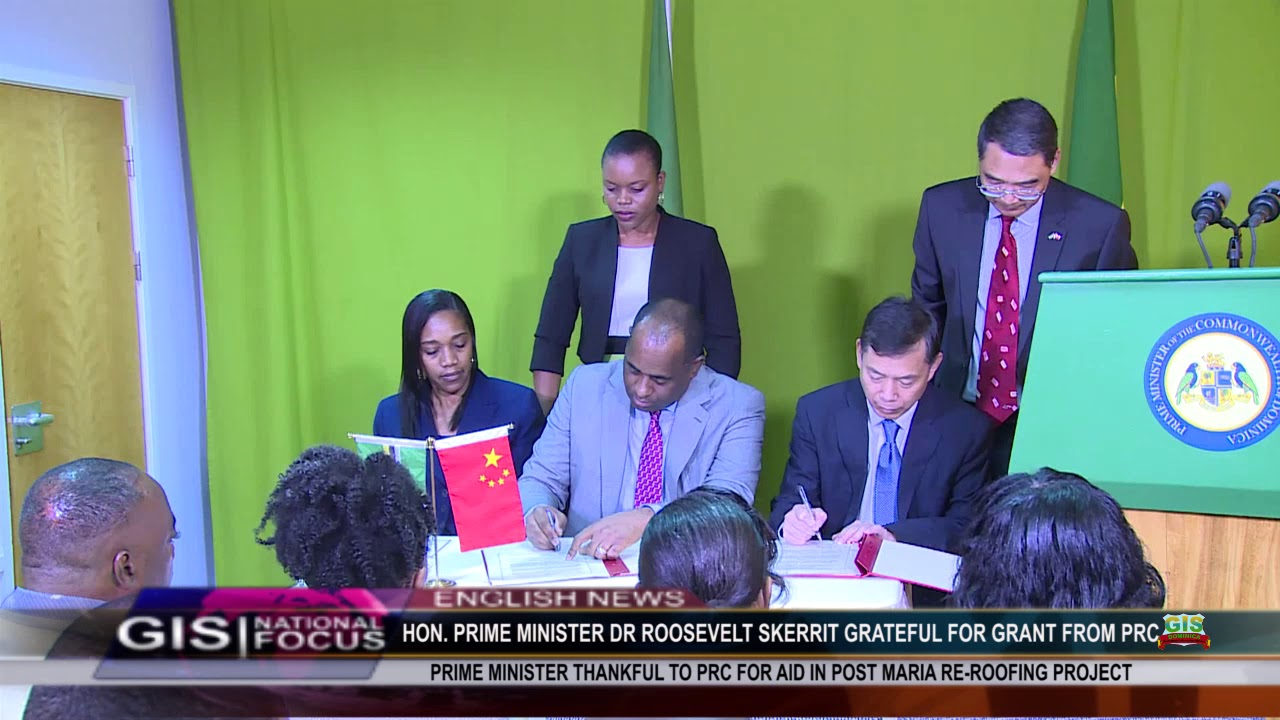 DOMINICA LEADER GRATEFUL TO PRC FOR GRANT 2