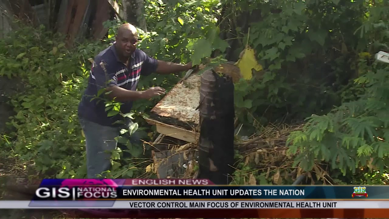 VECTOR CONTROL IS THE MAIN FOCUS OF THE ENVIRONMENTAL HEALTH UNIT 1
