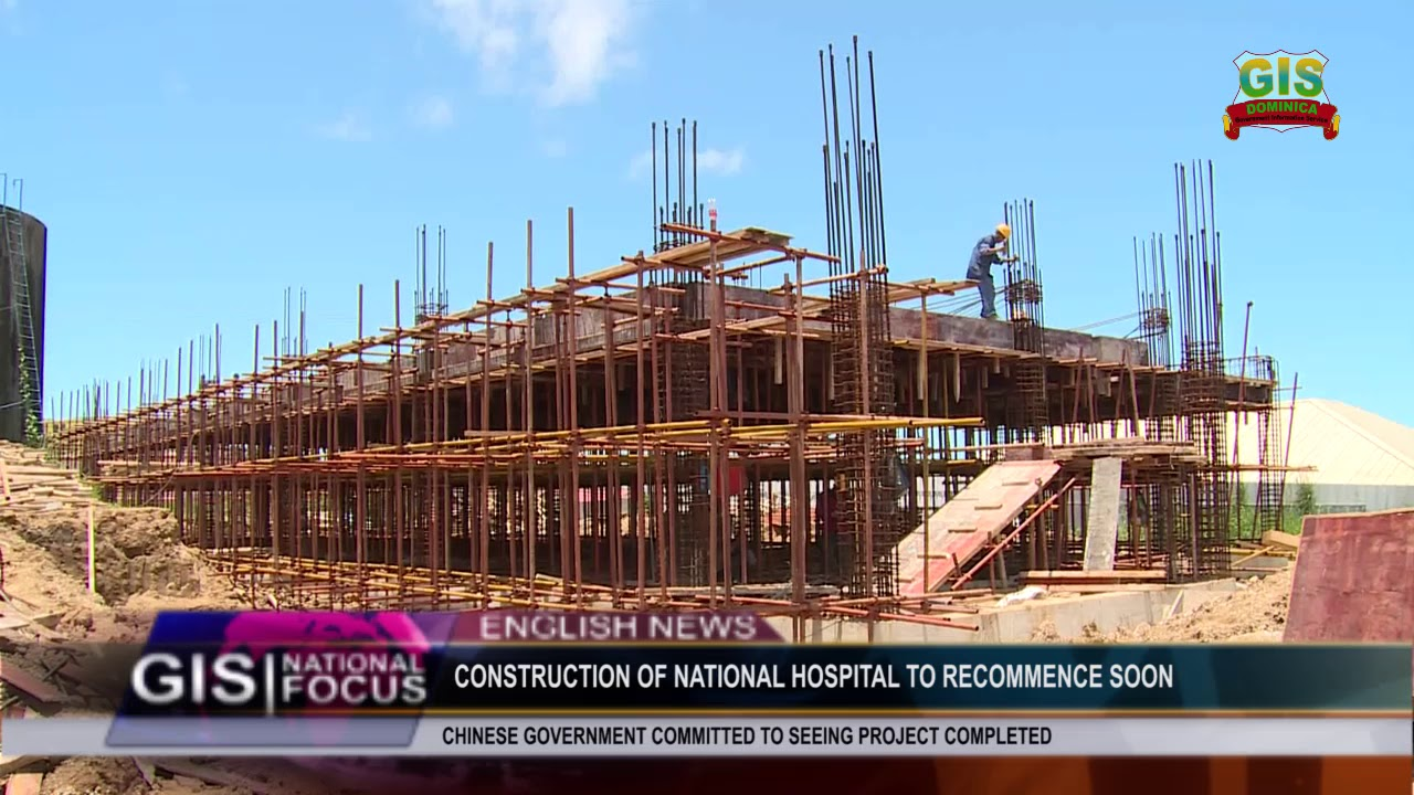 CONSTRUCTION OF NATIONAL HOSPITAL TO RECOMMENCE SOON 2