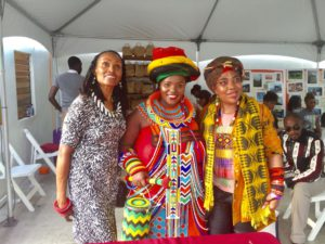 Praise Poet Jessica Mbangeni brings Ancestral Blessings & Cultural Showcase to Marcus Garvey Fair 2