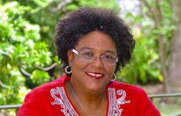 Barbadians Made history Mia-Mottley