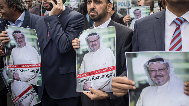 Jamal Khashoggi - final words