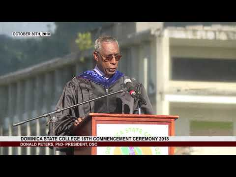 16th COMMENCEMENT CEREMONY OF THE DOMINICA STATE COLLEGE 1