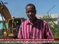 PREPARATION UNDERWAY FOR THE CONSTRUCTION OF TWENTY HOMES IN HILLSBOROUGH GARDENS