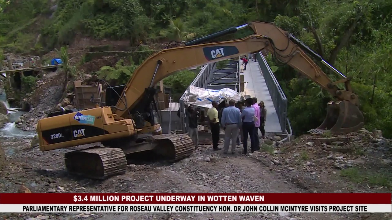 $3.4 MILLION BRIDGE PROJECT UNDERWAY IN WOTTEN WAVEN 9