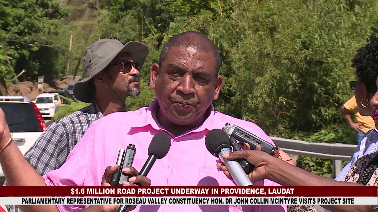 $1.3 MILLION ROAD PROJECT IN PROVIDENCE, LAUDAT 9