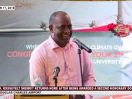 Congratulatory ceremony for Hon. Dr. Roosevelt Skerrit 2