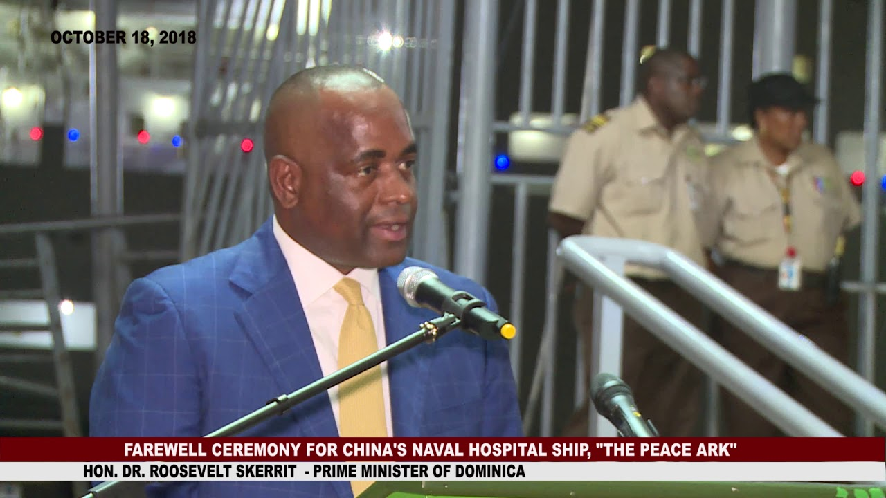 FAREWELL CEREMONY FOR CHINA'S NAVAL HOSPITAL SHIP 1