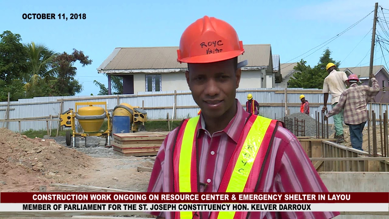 WORK PROGRESSES ON RESOURCE AND EMERGENCY SHELTER IN LAYOU 8