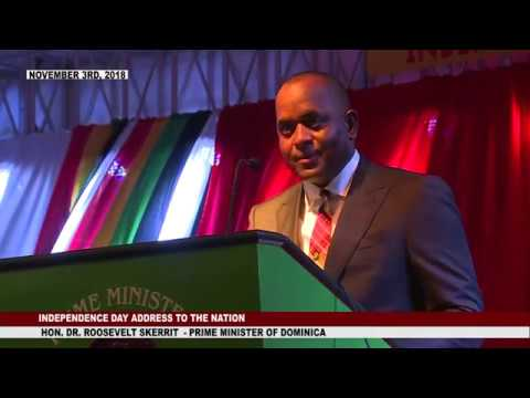 INDEPENDENCE DAY ADDRESS BY HON PRIME MINISTER DR. ROOSEVELT SKERRIT 1
