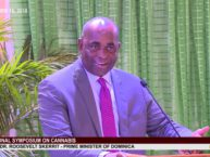 Hon. Prime Minister Dr. Roosevelt Skerrit addresses National Consultation on Cannabis