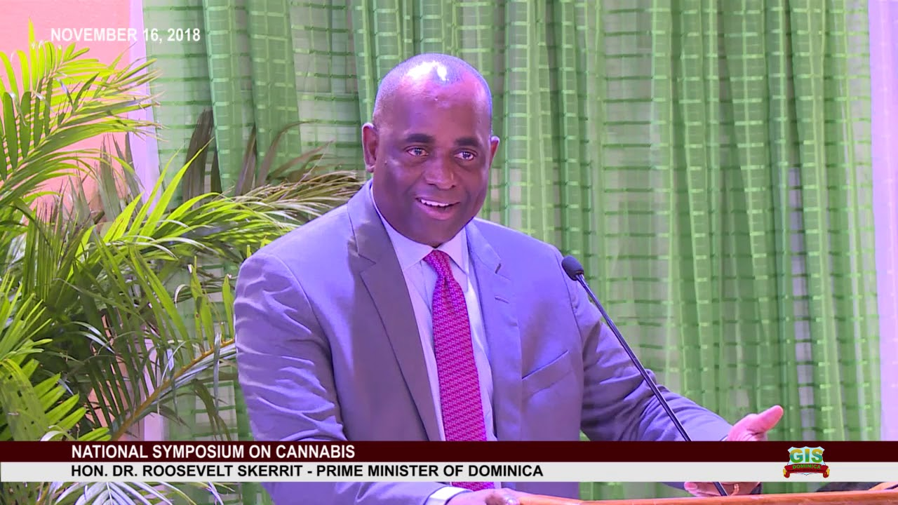 Hon. Prime Minister Dr. Roosevelt Skerrit addresses National Consultation on Cannabis 5