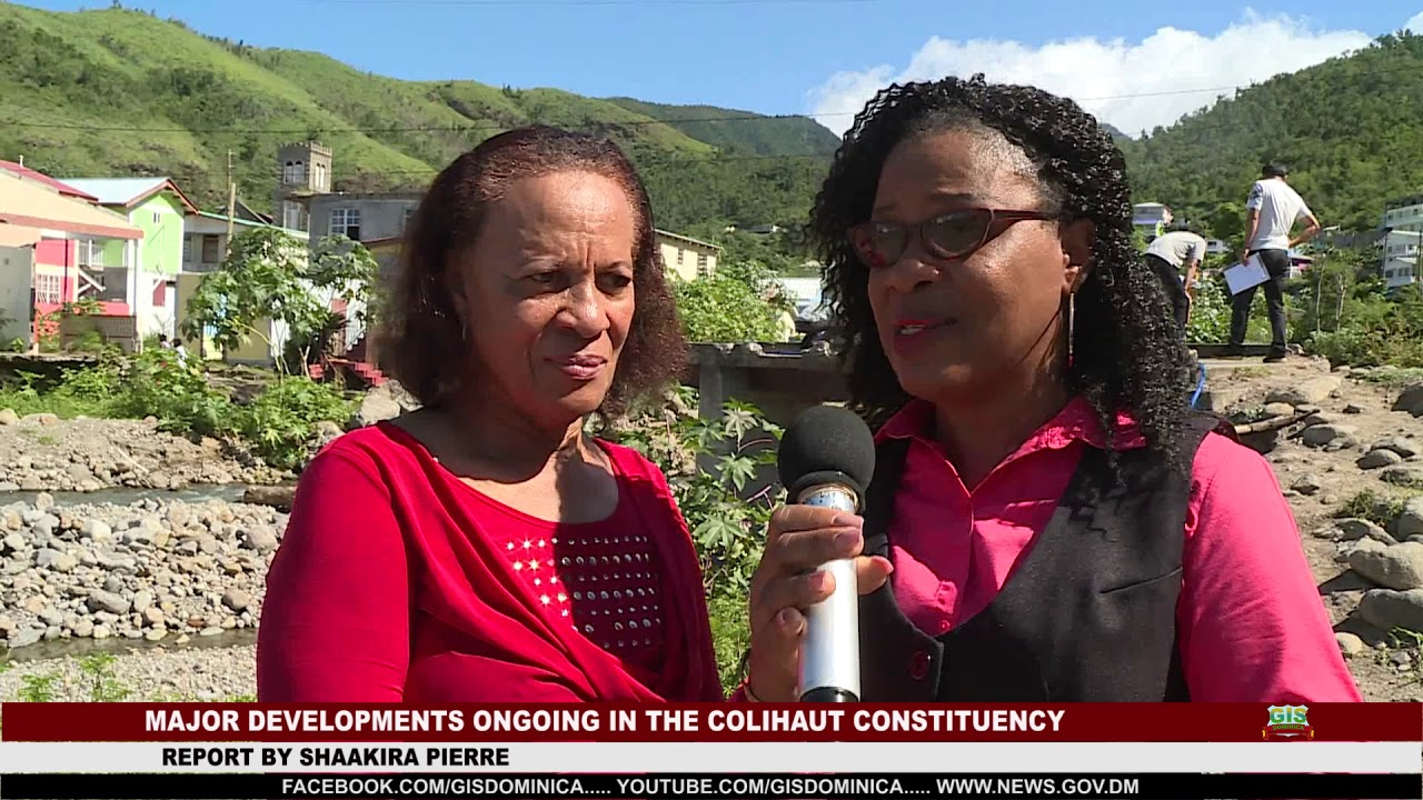 DEVELOPMENTS IN THE COLIHAUT CONSTITUENCY 1