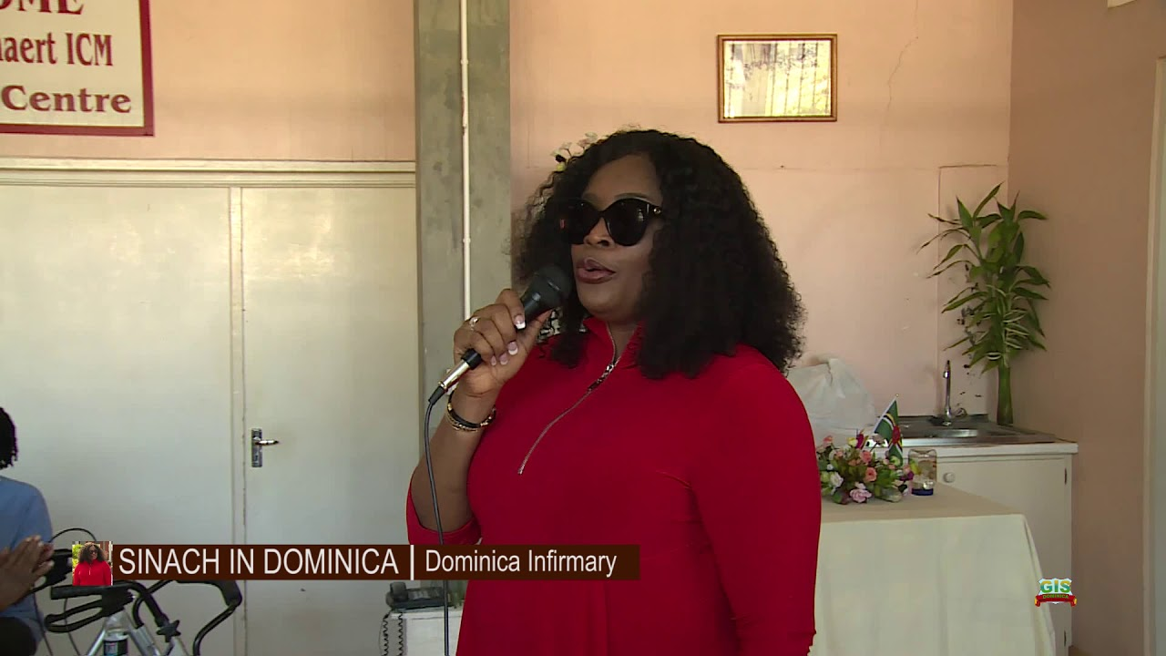 SINACH Visits the Dominica Infirmary 14