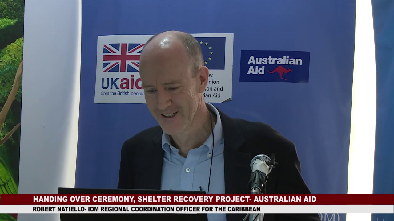HANDING OVER CEREMONY OF AUSTRALIA AID FUNDED SHELTER RECOVERY PROJECT 10