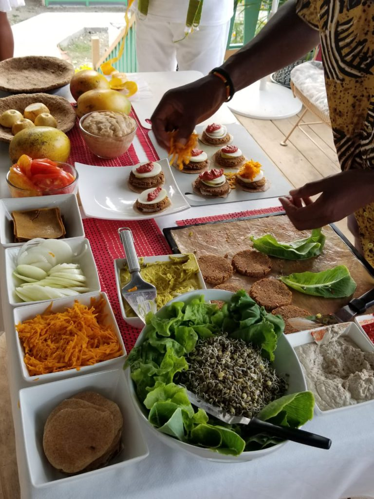 Aris Latham Father of Gourmet Ethical Raw Foods Cuisine Returns to Jamaica