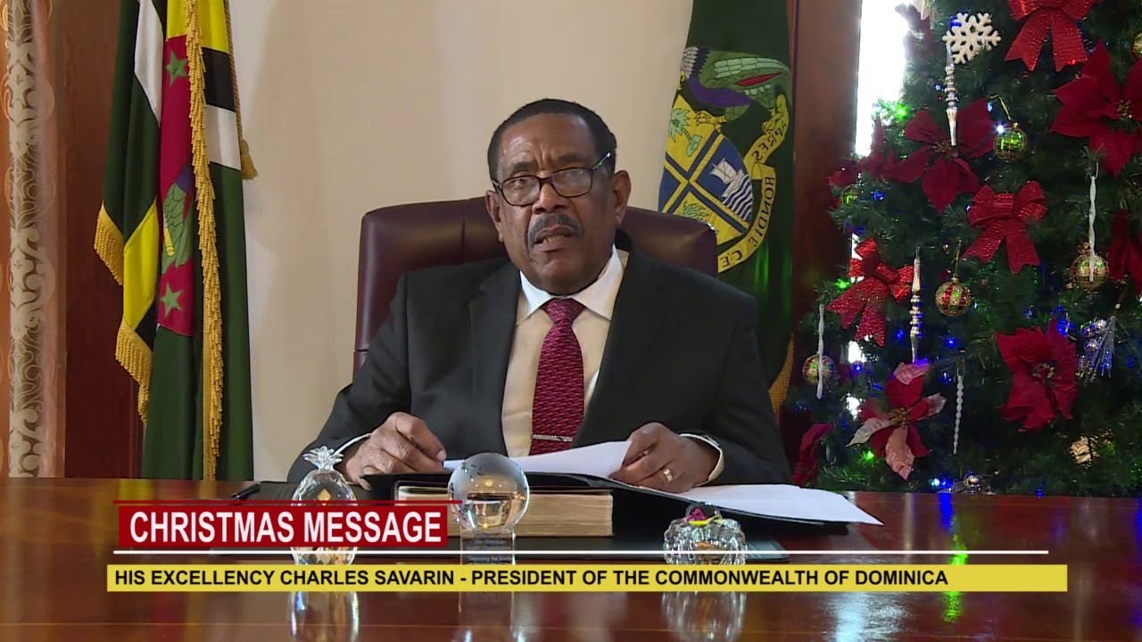 2018 Christmas Message from His Excellency Charles Savarin 2