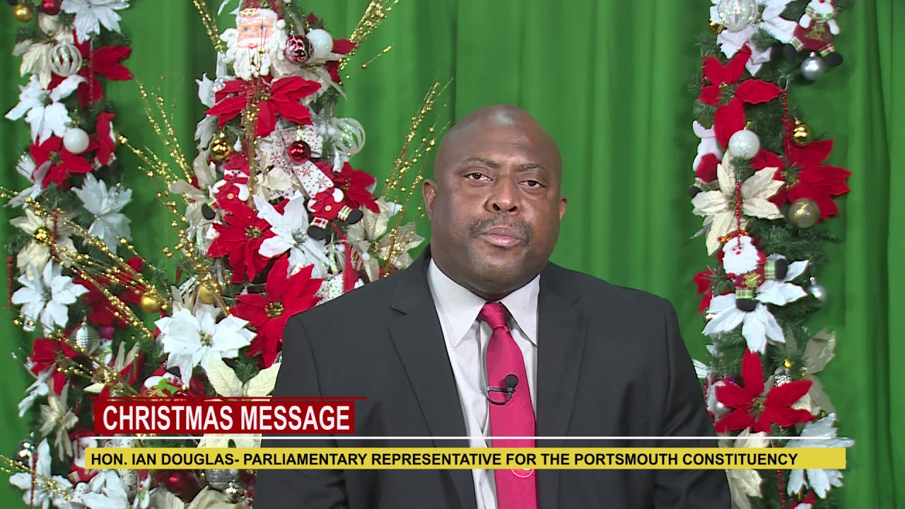 2018 Christmas Message from Hon. Ian Douglas 10