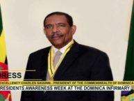RESIDENTS AWARENESS WEEK  AT THE DOMINICA INFIRMARY 7