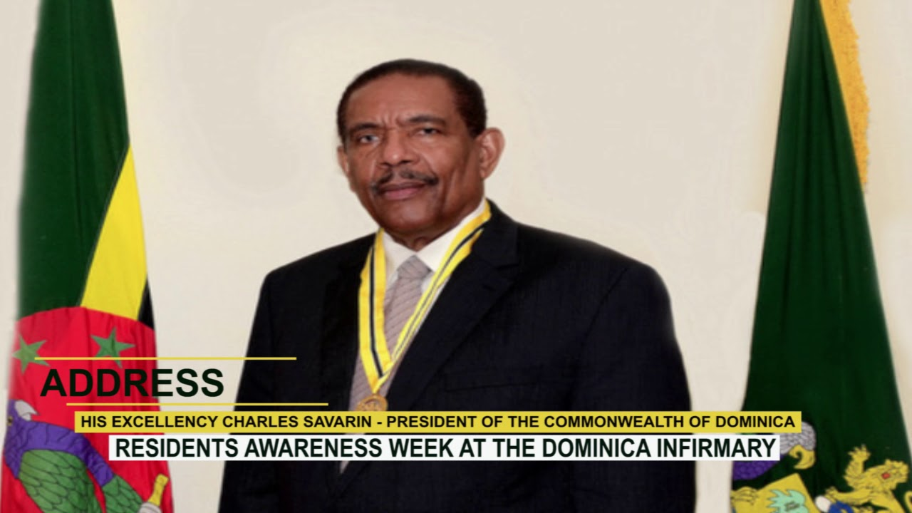 RESIDENTS AWARENESS WEEK  AT THE DOMINICA INFIRMARY 3