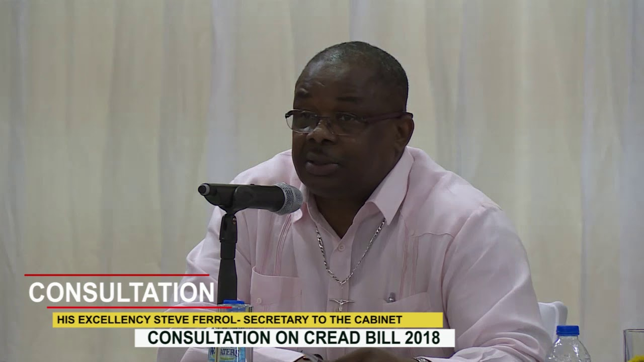 CONSULTATION ON CREAD BILL 2018 9