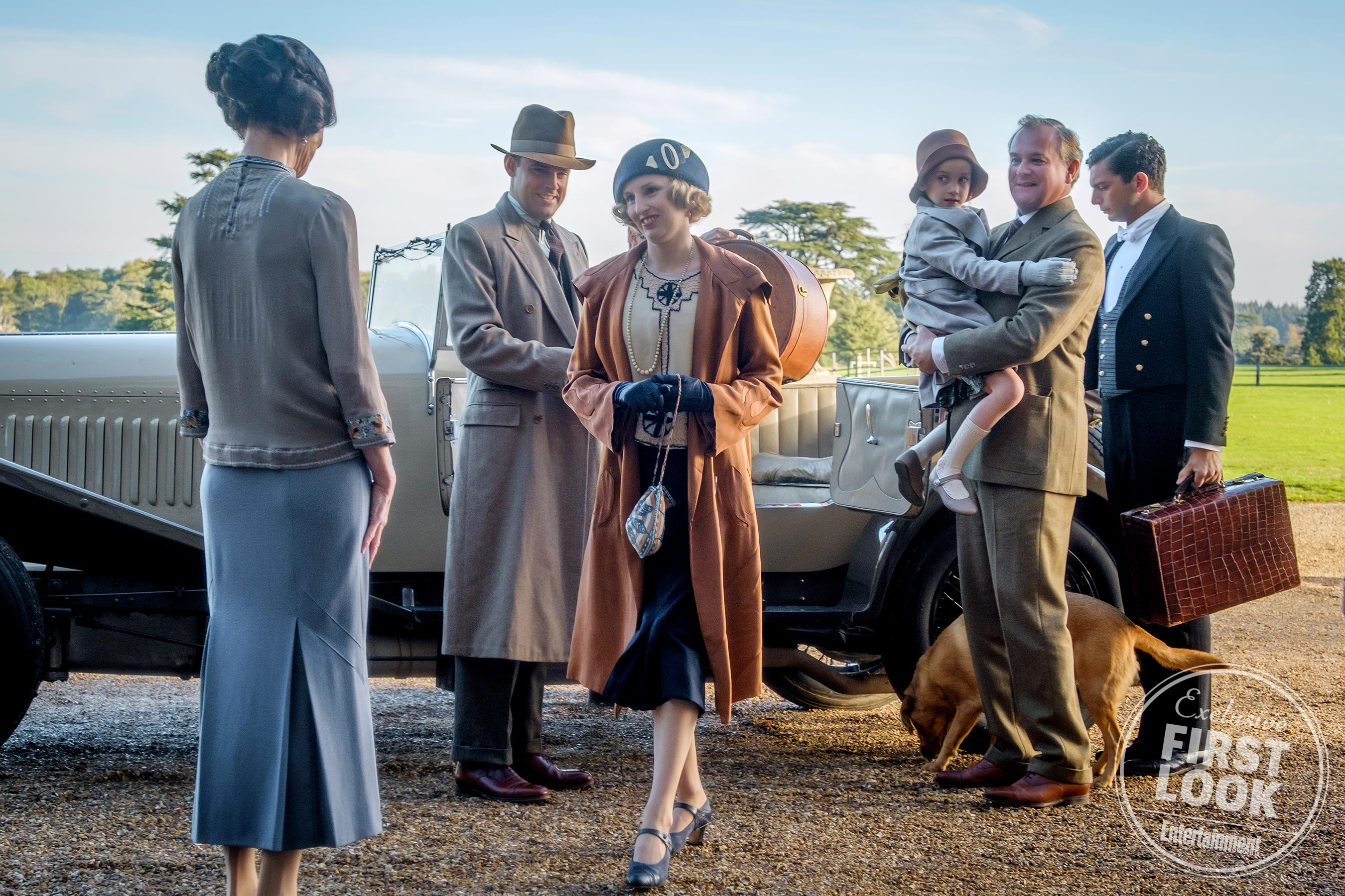 See exclusive first-look photos from <em>Downton Abbey</em> movie 1