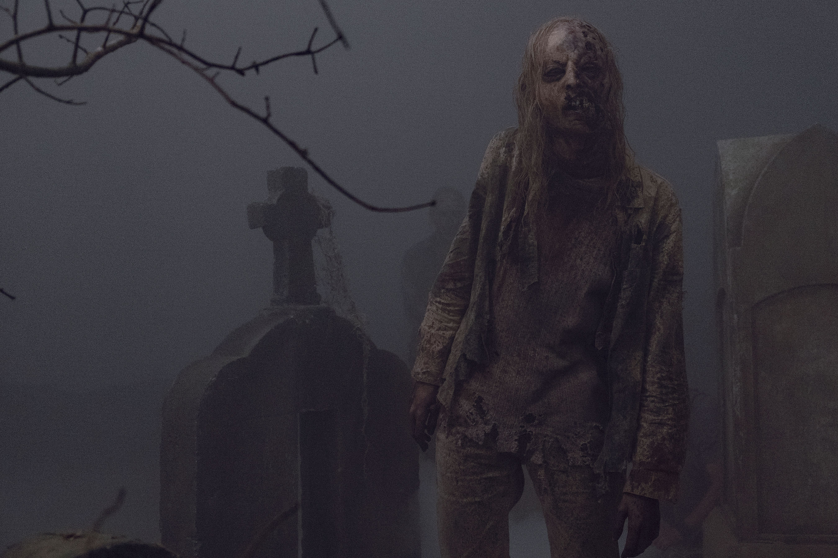 Exclusive: Watch Samantha Morton as Alpha in creepy <em>The</em> <em>Walking Dead</em> trailer 1