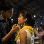 From the archives: See Freida Pinto and Dev Patels <em>Slumdog Millionaire</em> cover in honor of the films 10th anniversary 1