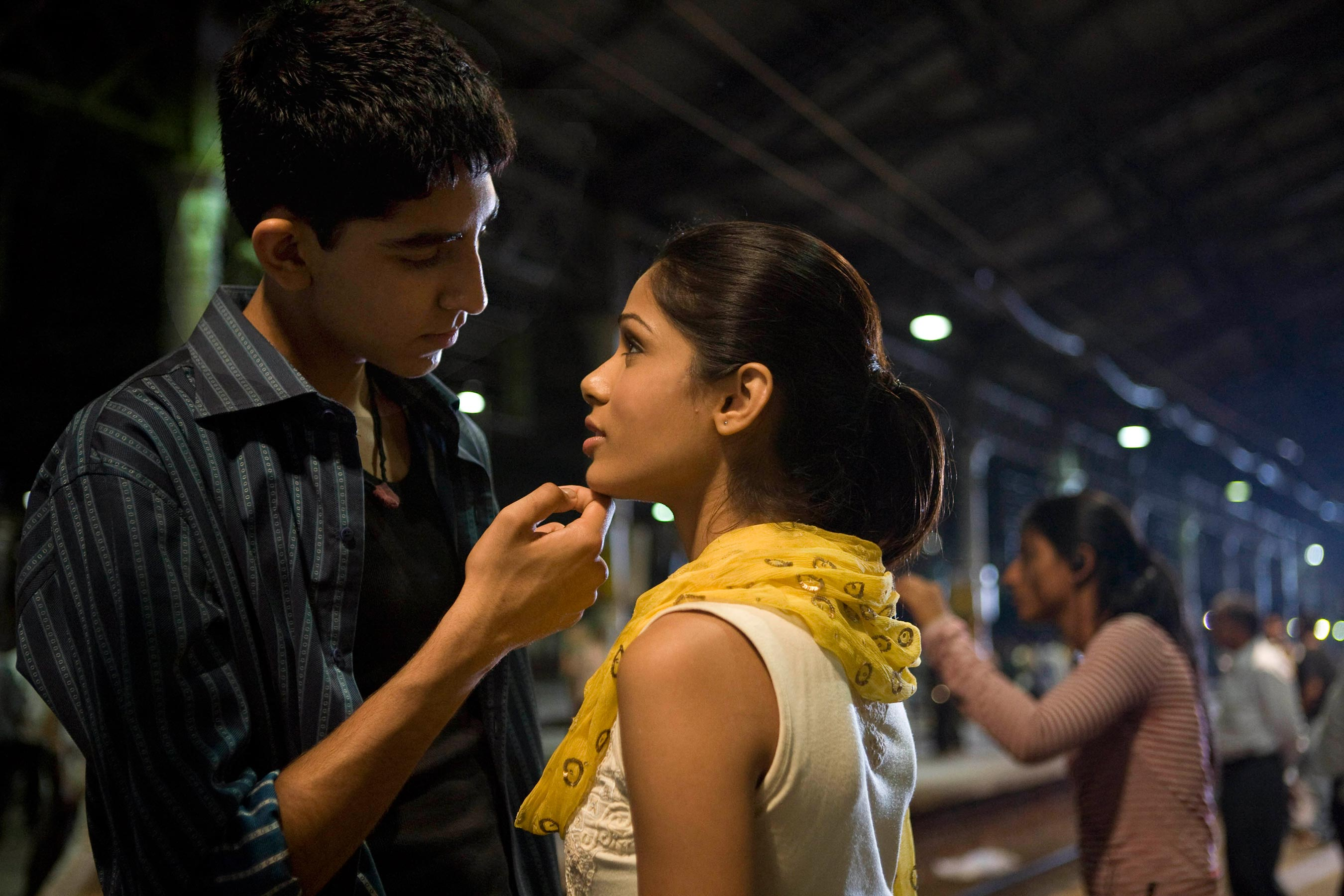 From the archives: See Freida Pinto and Dev Patels <em>Slumdog Millionaire</em> cover in honor of the films 10th anniversary 7
