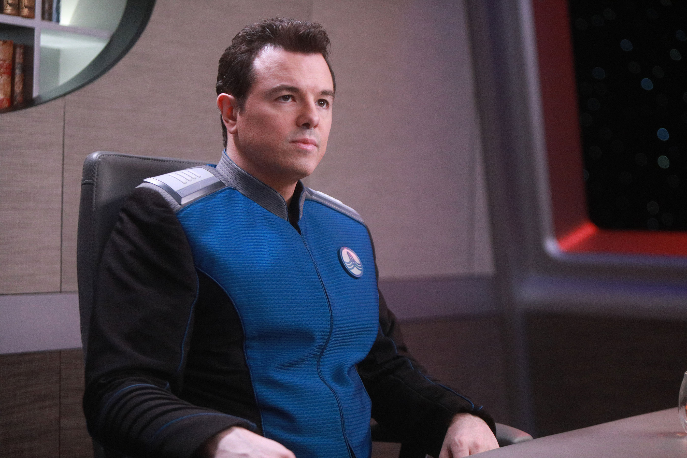 Seth MacFarlane teases season 2 of  The Orville that's a major step up in scope 12