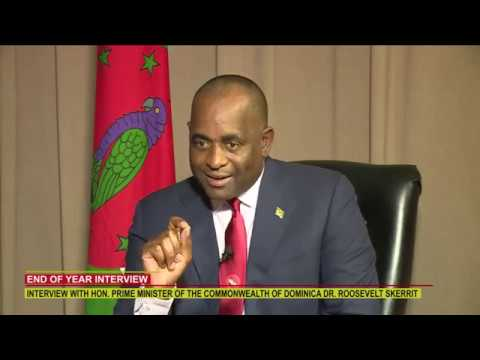 END OF YEAR INTERVIEW WITH HON. PRIME MINISTER DR. ROOSEVELT SKERRIT 1