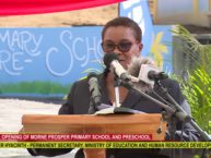OPENING OF MORNE PROSPER PRIMARY SCHOOL AND PRESCHOOL 3