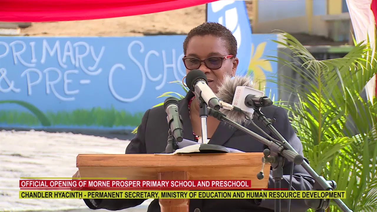 OPENING OF MORNE PROSPER PRIMARY SCHOOL AND PRESCHOOL 1