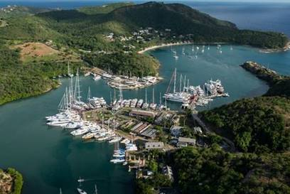 Nelson's Dockyard in Antigua, voted Best Caribbean Attraction