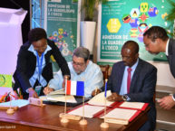 The French Island of Guadeloupe formally joins the Organisation of Eastern Caribbean States OECS