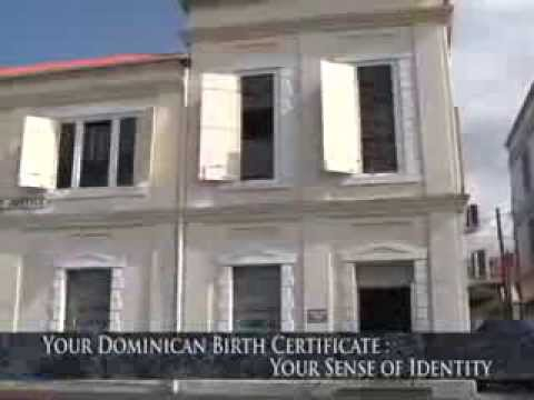 GIS Dominica: Your Dominican Birth Certificate, Your Sense of Identity 1