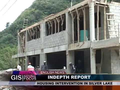 GIS Dominica: IN DEPTH REPORT -  Silver Lake Housing Intervention 2