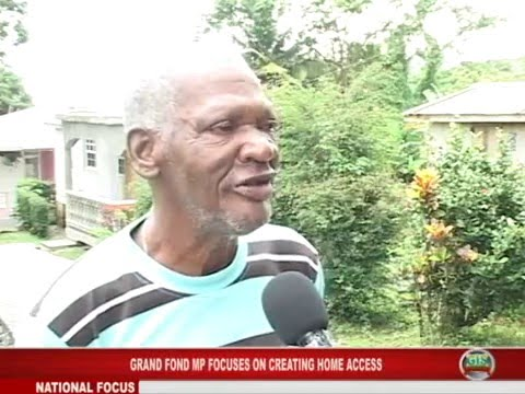 GIS Dominica: Grand Fond MP Focuses on Home Access in Constituency 1