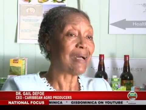 GIS Dominica Special Report: Herb Farming Proposed to Expand Agriculture 2